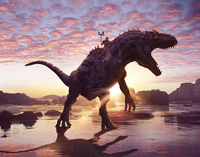 Dino War - Contest Dino Challenge Unhide School