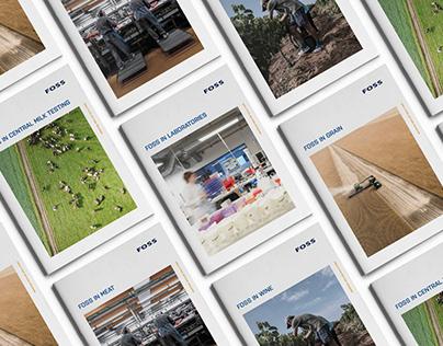 Corporate brochure design concept – FOSS Analytics