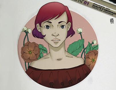 Summer & Flowers sketch