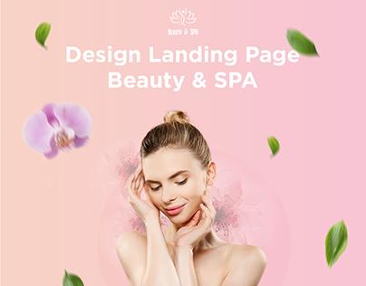 Beauty & SPA │Landing Page