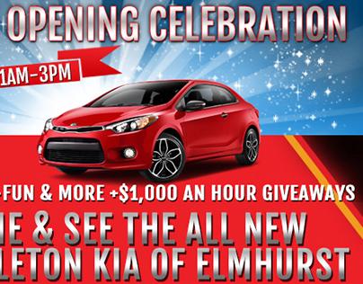 Banner_Kia Grand Opening Celebration