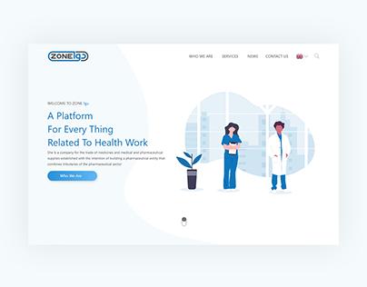 A drug store website