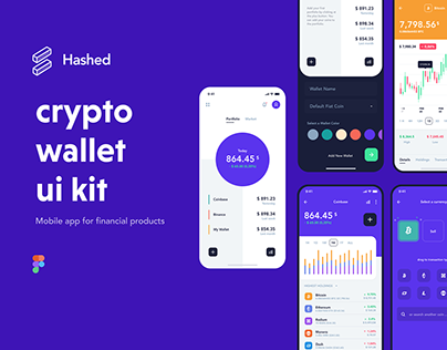 Hashed Crypto Wallet UI Kit