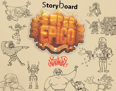 Storyboard para Webserie