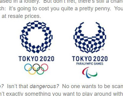 How to Buy Olympic Games Tickets