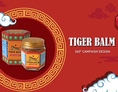 Tiger balm - 360 campaign