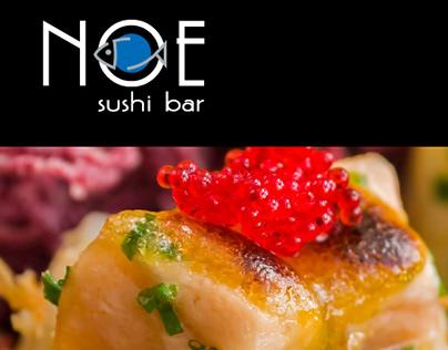 Piezas gráficas restaurante NOE/KOBE