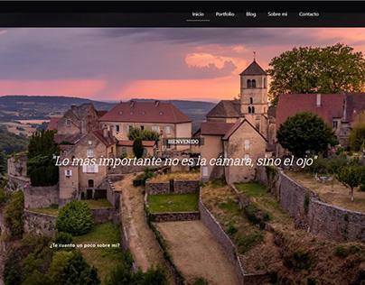 Diseño Web Fotógrafo + Portfolio + Secciones
