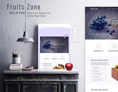 Fruits_Zone_Webdesign_ Online_Store_Landing_Page