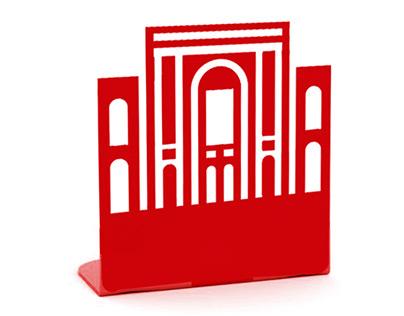 Triennale Bookshop - Merchandising+branding (project)