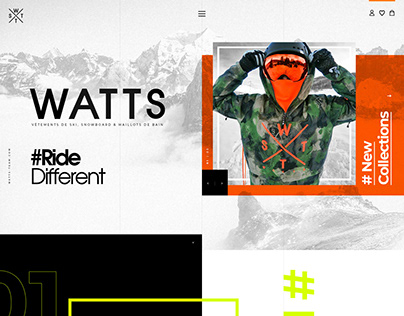 WATTS TEAM | by Hoo Design