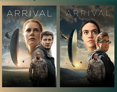 Arrival Poster Dublicate The Birds Poster Redesign