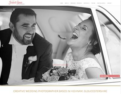 Web Design & Branding for Wedding Photographer