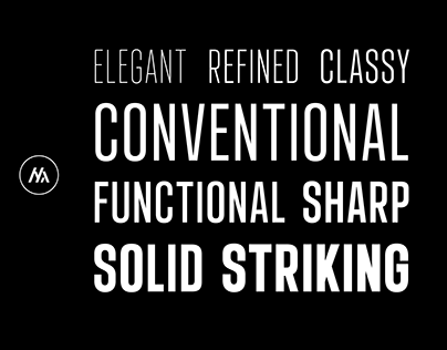 Landasans | Sans Serif Condensed Font