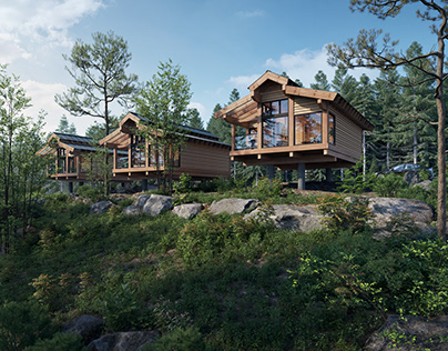 the cabin in the forest