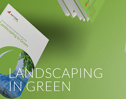 Landscaping in Green Brochure