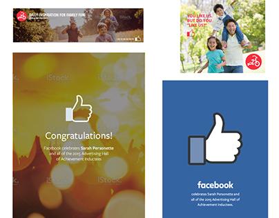Online Advertising Work // Facebook + Red Tricycle