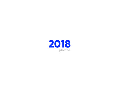 Photo Collection 2018