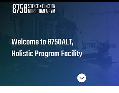 8750ALT - Home Page Design