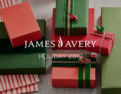 James Avery Holiday 2019