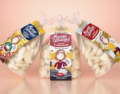 Dumplings Packaging & Branding