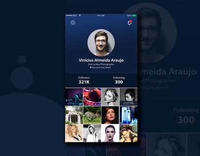 User Profile UI