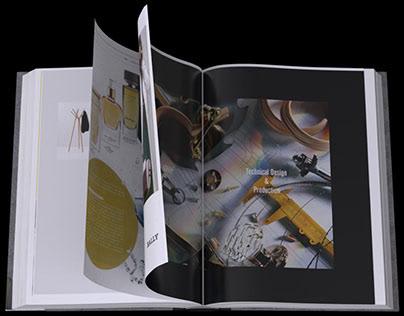 3D Book For VW new sagitar car launch - @ DMG