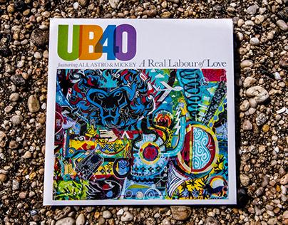 UB40 ALBUM COVER ARTWORK