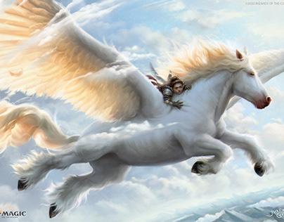 Magic: the Gathering - Arborea Pegasus