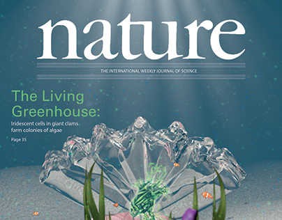 Mock Cover Design for Nature Magazine