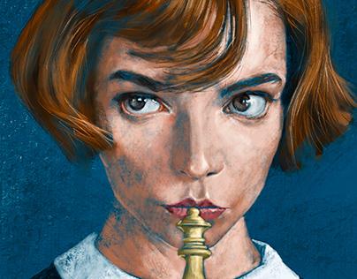 Digital painting exercise - Fanart.