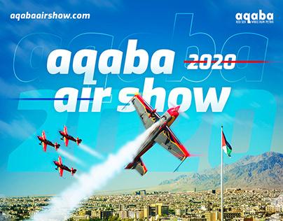 Aqaba Airshow 2020 // key visual artwork