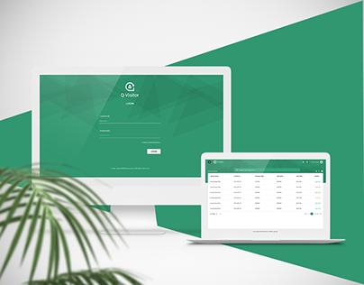 Q-visitor web portal