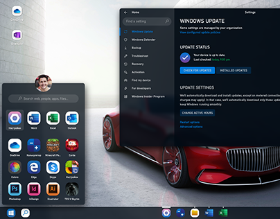 Windows 10 20H1: UI Concept