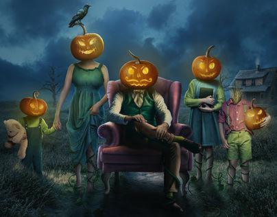A Pumpkin Portrait