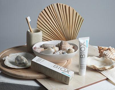 Art Direction, Set Design, Styling & Makeup for Biox Ad