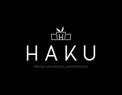 Cerveza artesanal - HAKU