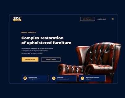 Restoration of furniture