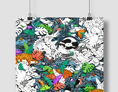 Colouring posters