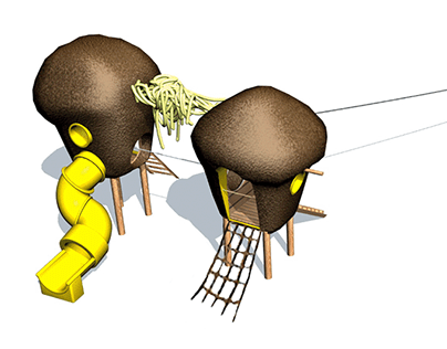 """Truffles and Spaghetti"" Playground Concept 2021"