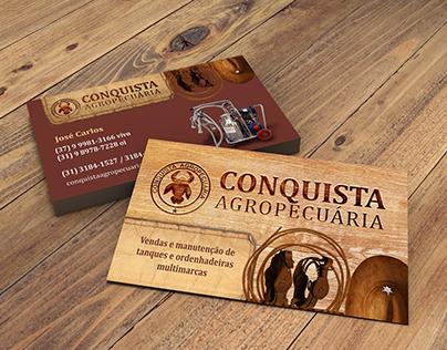 Identidade Visual Agropecuária Conquista
