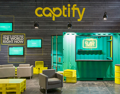 Captify at Dmexco - Booth