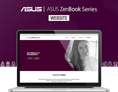 ASUS- Incredible Women Website