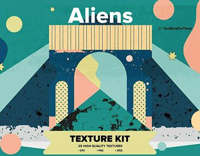 Aliens Texture KitbyYouWorkForThem Design Studio