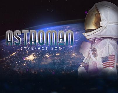 Astroman Typeface Font