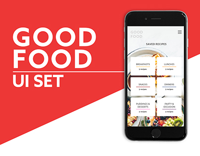 Good Food UI Set