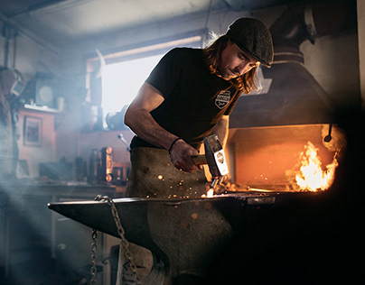 BLACKSMITH ASBECK // PHOTO REPORTAGE