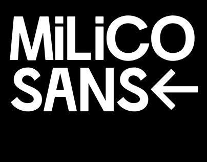 Milico Sans (Free Font)