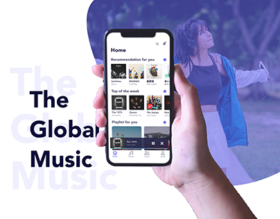 Connect with someone in the world with music.