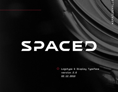 SPACED Logotype and Display Typeface